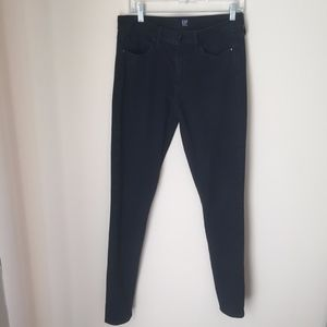 GAP Black True Skinny Jeans